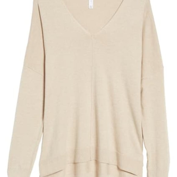 Nordstrom Leith Tan Sweater